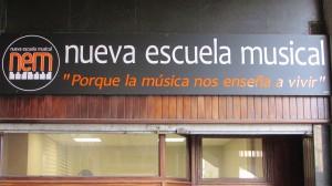 Rotulo Nueva Escuela Musical Santutxu